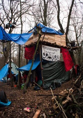 Wiederbesetzung des Hambacher Forsts