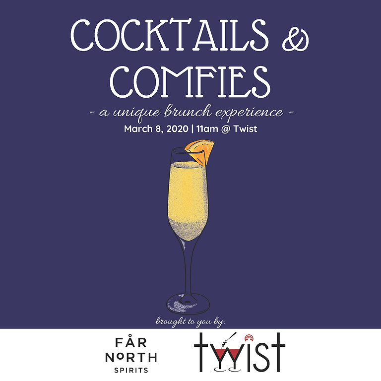 Cocktails & Comfies Round TWO!