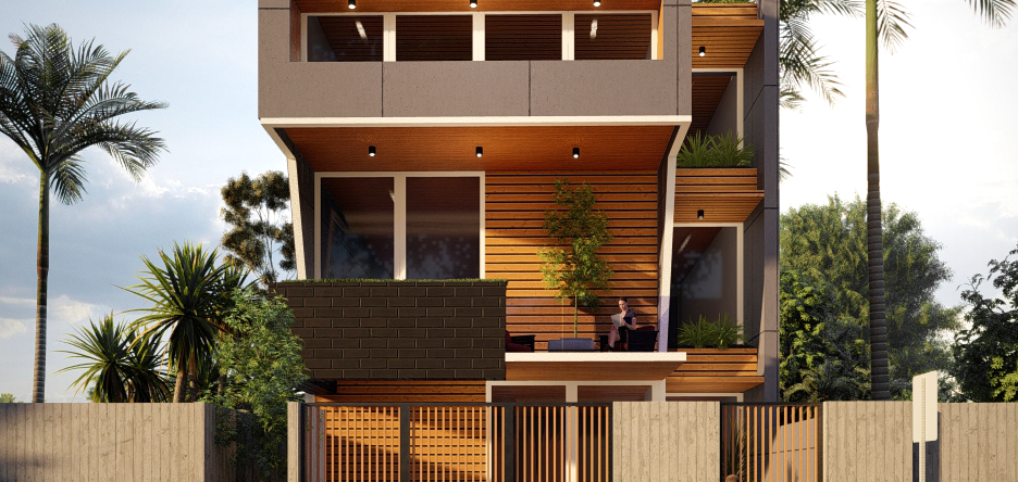 Narrow Residentail Architecture