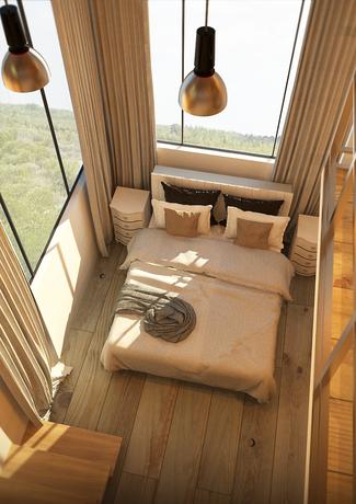 Loft with Studio Bedroom