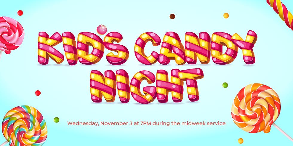 Kids Candy Night
