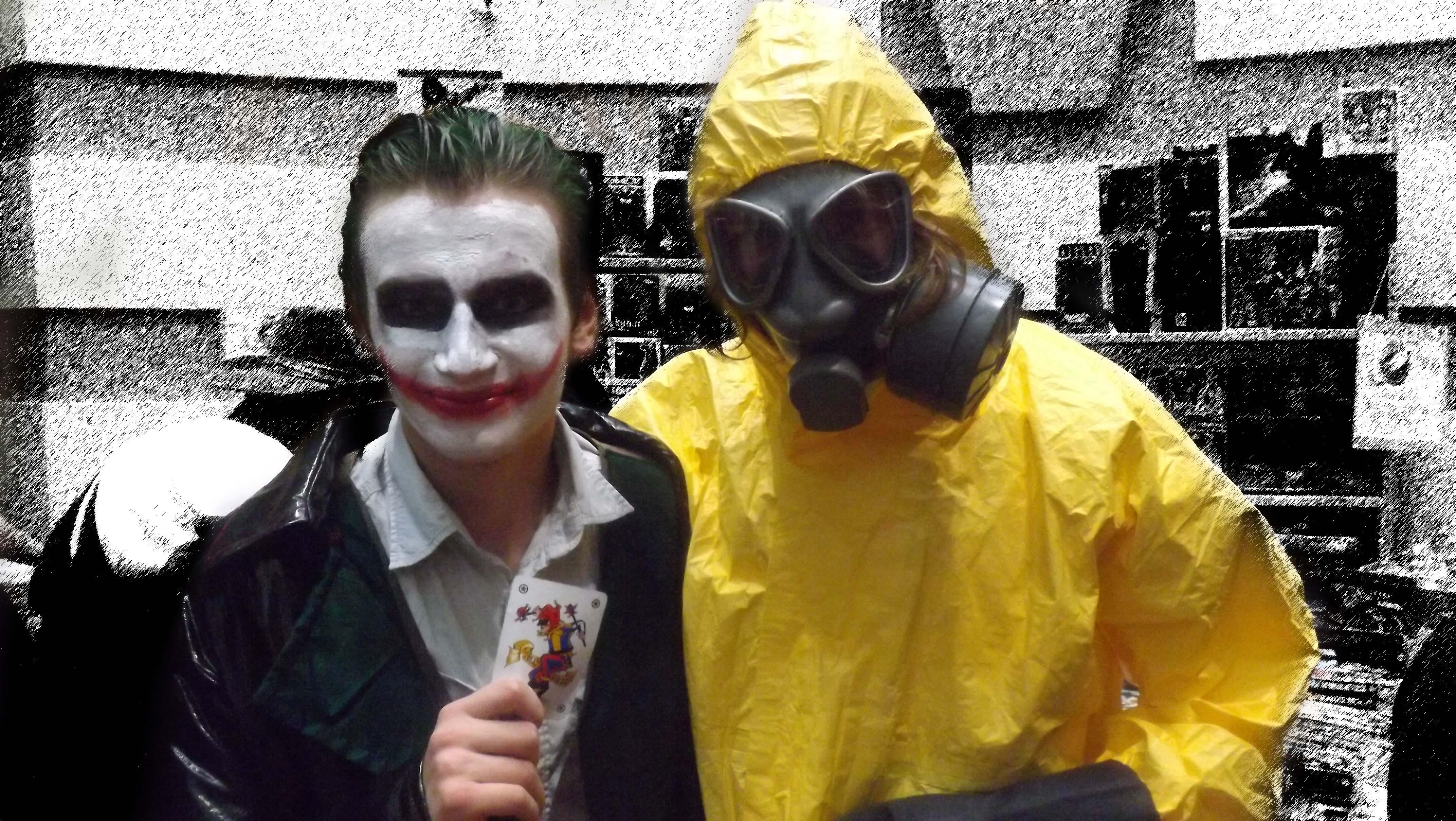 The Joker / a joker.