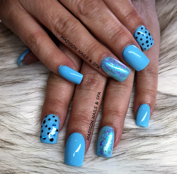 Gel Nails with Design