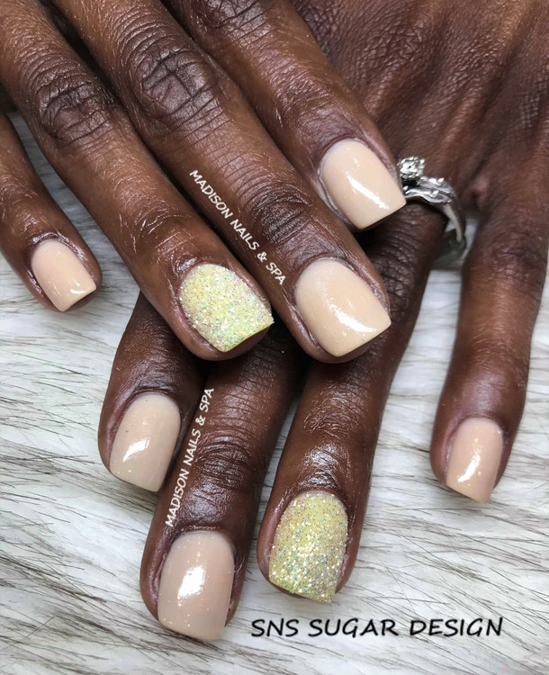 SNS Powder with Sugar Nails
