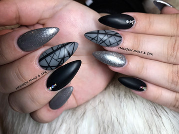 Stiletto Shape with Matte Finish