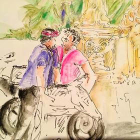 Bike chat - Bali