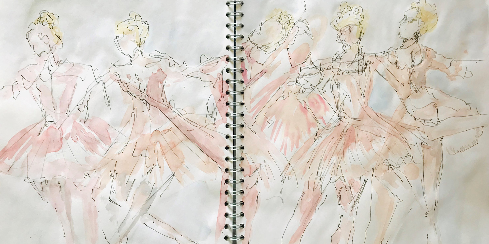 Original sketch from ballet