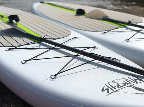 SUP RENTAL HOURLY ( INFLATABLE 12FT SUP ONLY )