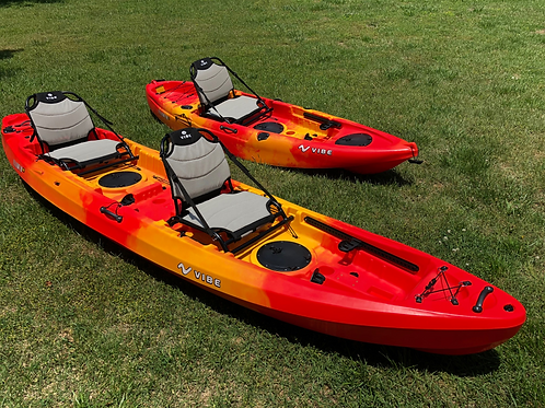 DOUBLE PERSON KAYAK HOURLY RENTAL