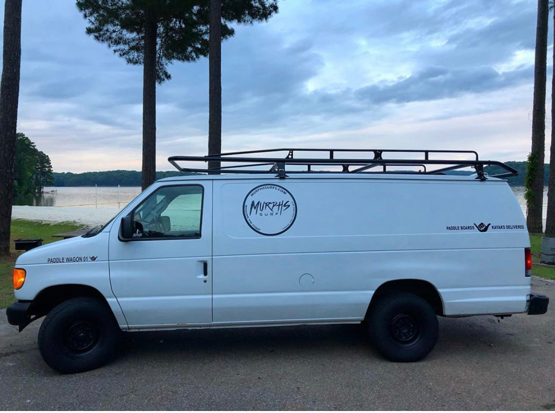 Paddle Wagon 1... Delivered more boards than burgers served at your local burger shop.