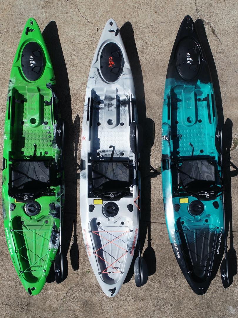 Intro to kayaks
