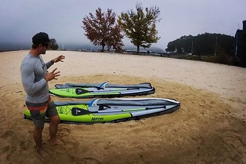 1 Hour Paddle Board Class with a rental