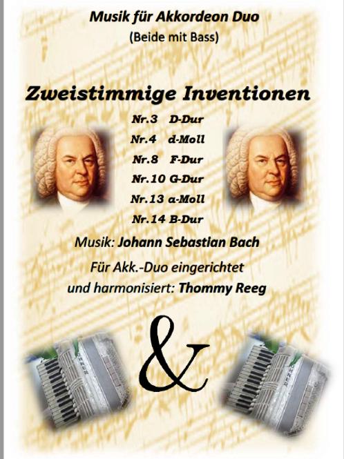 Zweistimmige Inventionen von Bach