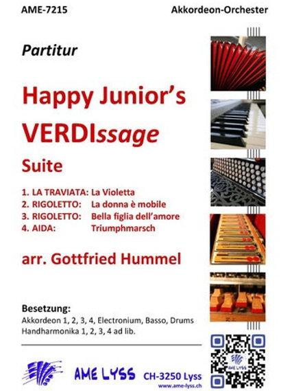 Happy Junior's VERDIssage    Partitur