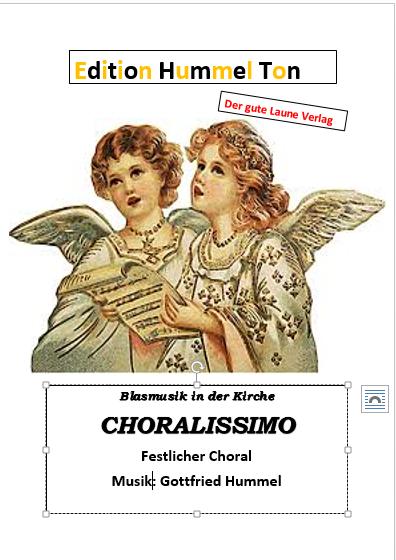 Choralissimo - ein schöner modernen Choral