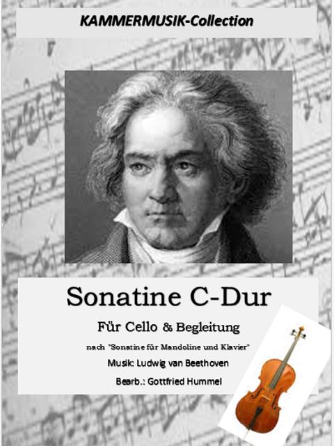 Sonatine C-Dur für Cello & Begl.