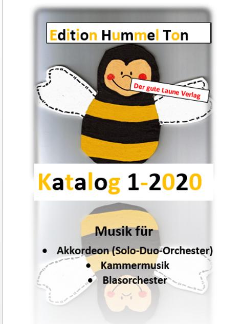 Der Edition Hummel Ton Katalog 1-2020