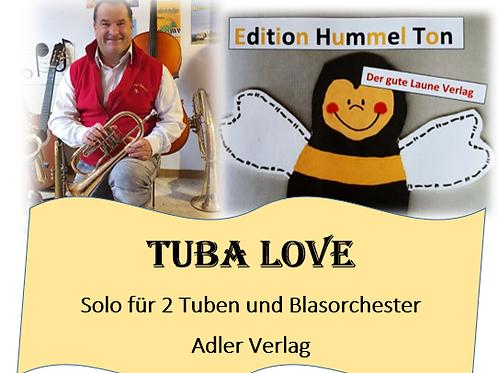 Tuba love - Solo für 2 Tuben