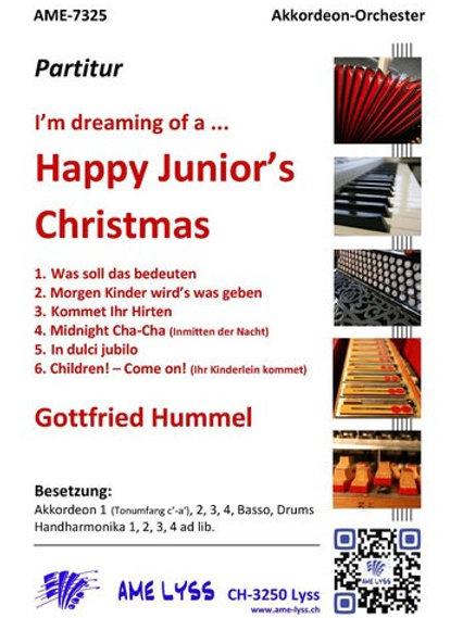 Happy Junior´s  Christmas Partitur