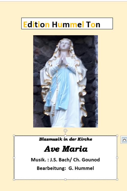 Ave Maria (Musik: J. S. Bach/ Ch. Gounod)