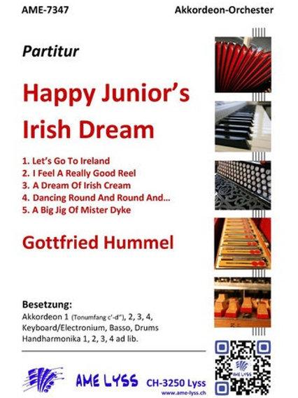 Happy Junior´s Irish Dream Partitur