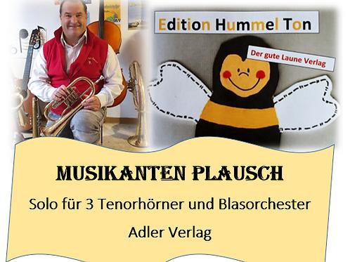 Musikantenplausch für 3 Tenorhörner