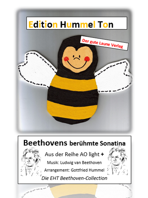 Beethovens berühmte Sonatina Partitur