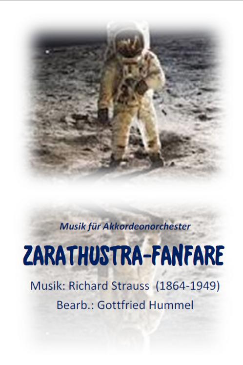 Zarathustra Fanfare Partitur