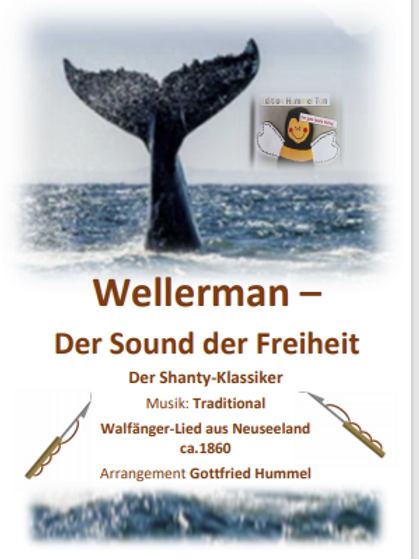 Wellerman - der Sound der Freiheit Partitur