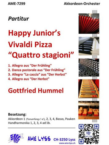 Happy Junior's Vivaldi Pizza Quattro Stagioni