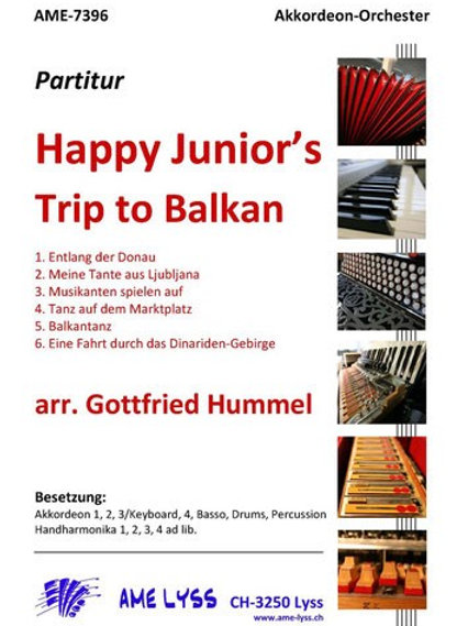Happy Junior´s  Trip to Balkan Partitur