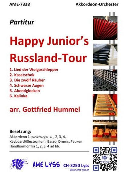 Happy Junior's Russland-Tour Partitur
