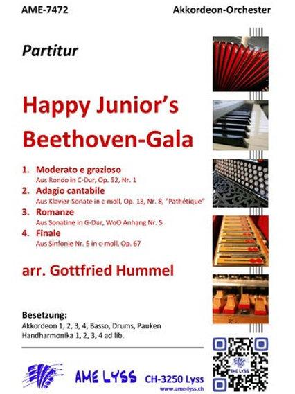Happy Junior´s  Beethoven Gala Partitur