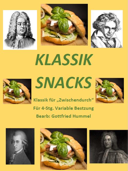 Klassik Snacls - Klassik für Zwischendurch