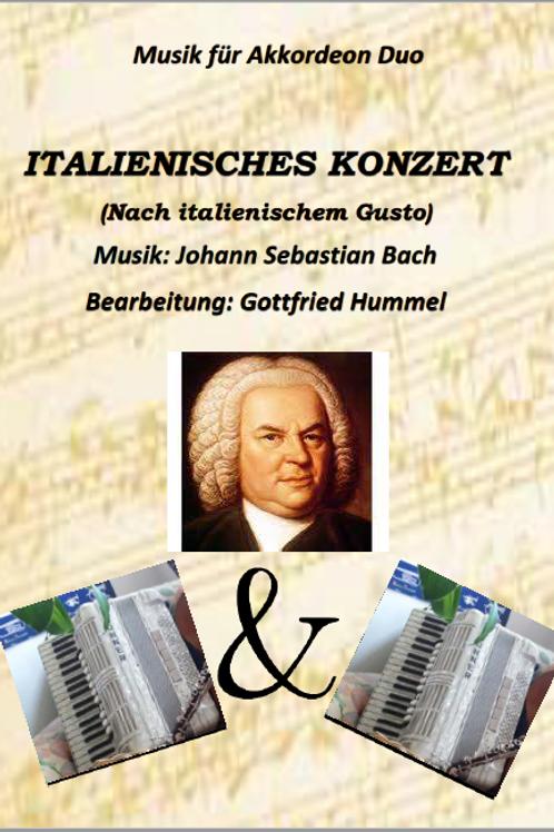 Italienisches Konzert 1.Satz J.S.Bach für Akk.Duo