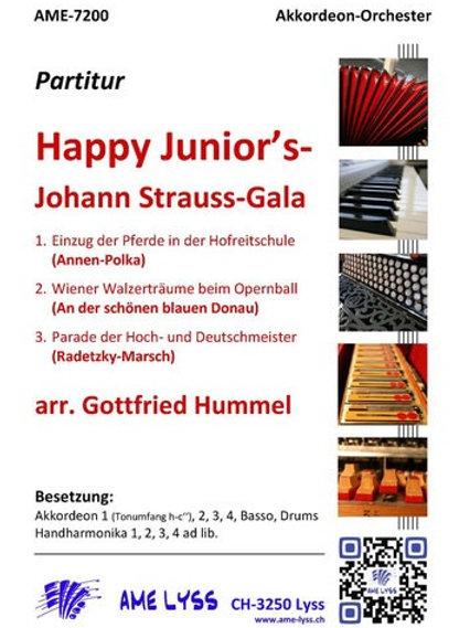 Happy Junior´s  Johann Strauss Gala Partitur