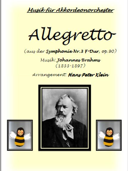 Allegretto  (aus der Symphonie Nr.3 F-Dur, op. 90)