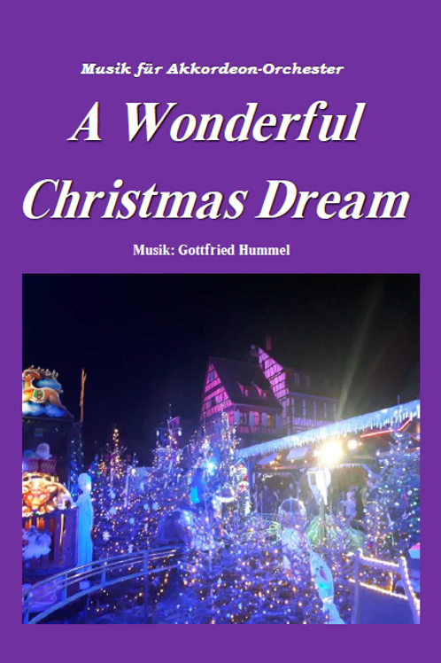 A wonderful Christmas Dream Partitur
