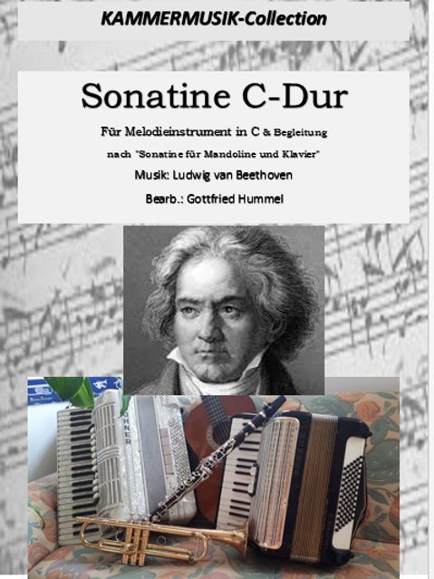 Sonatine C-Dur für Melodieinstrument & Bgl.