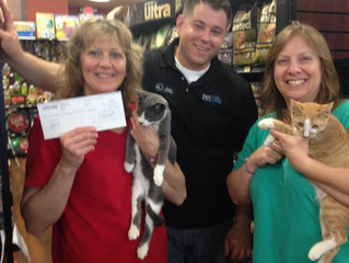 Thank you Pet Valu, KSQ!