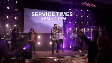 INDOOR SUNDAY SERVICE TIMES & GUIDELINES