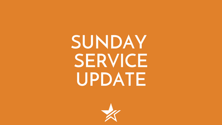 Sunday service UPDATES