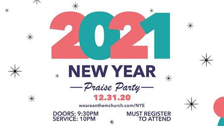 NYE PRAISE PARTY!
