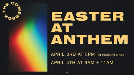 Easter at anthem