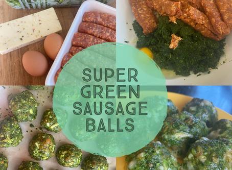 Super Green Sausage Balls