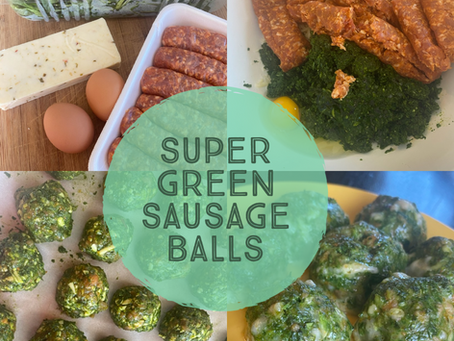 Super Green Sausage Balls