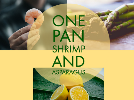 One Pan Shrimp and Asparagus