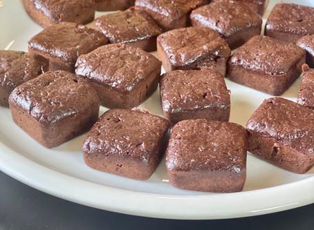 Easy Low Carb, Sugar Free Mini Brownie Bites