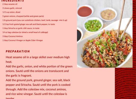 Low Carb Cabbage Stir Fry