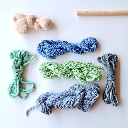 Set de lanas Mini Telar